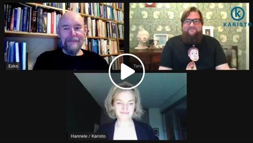 Avaruuden arvoituksia FB-live kirjanjulkkarit Esko Valtaojan kanssa!